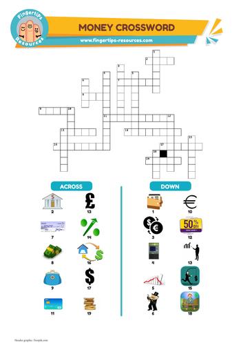 Money & Finance Vocabulary Crossword