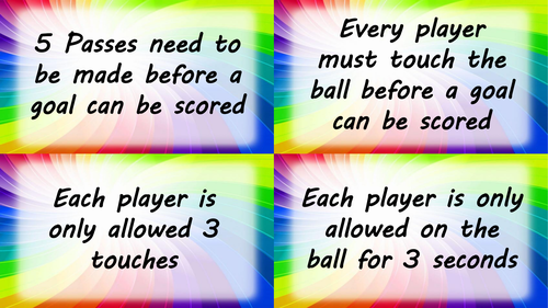 Differentiation Cards for PE