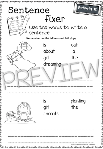 January writing journal (booklet)