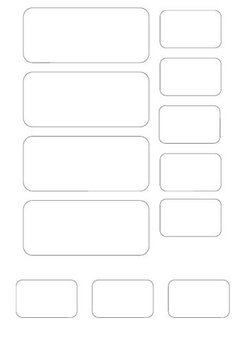 Blank teacher toolkit labels