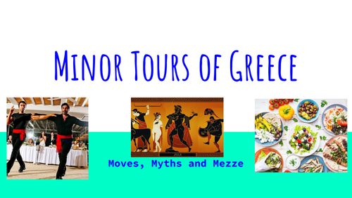 Minor Tours of Greece - Travel Workshop