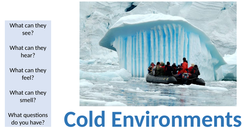 KS3 Cold Environments SOW