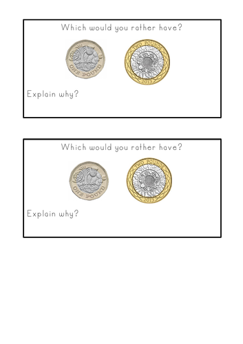 Y1- Coin value - assessment