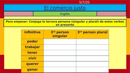 Viva 3 second edition Spanish Module 4 ROJO