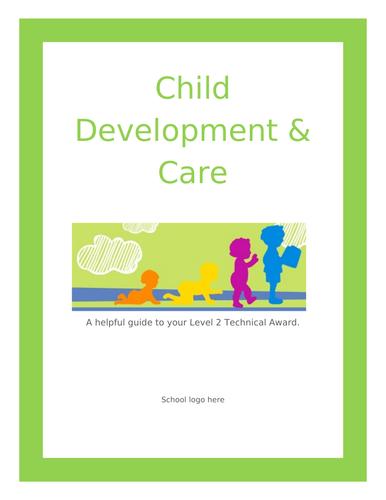 Pre-course intro CACHE technical award Child Development