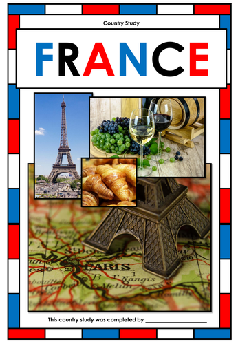 France - Country Study - Webquest