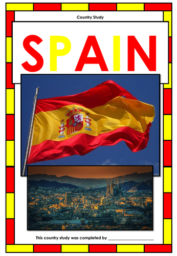 Spain - Country Study - Webquest