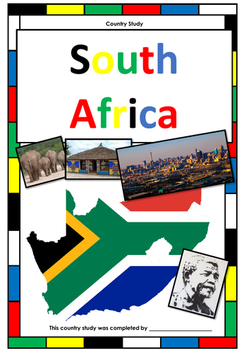 South Africa - Country Study - Webquest