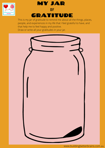 My Jar of Gratitude