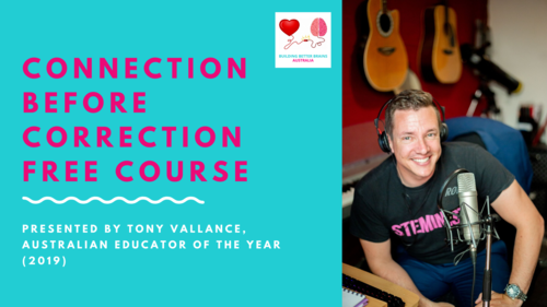 Free Online Course: Connection Before Correction for Teachers