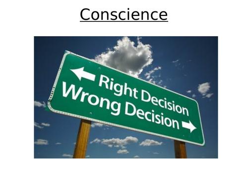 Aquinas' understanding of Conscience