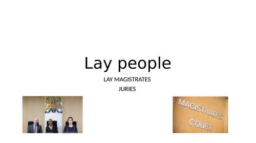 AQA Law Lay People