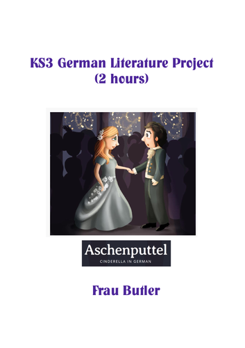 Aschenputtel - 2 hour reading, listening and translation project
