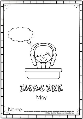 Imagine Book 9 (May)
