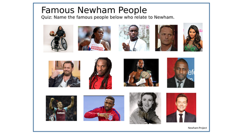 Famous Newham People