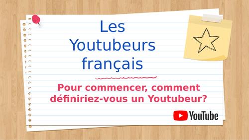 Les Youtubeurs français