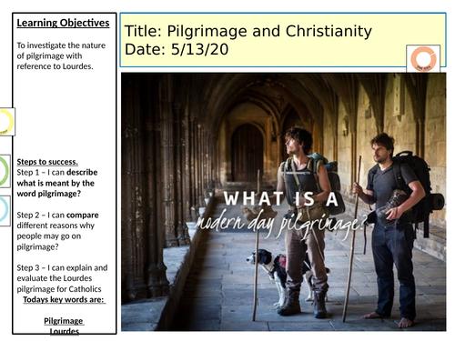 Pilgrimage- Scheme of work- KS3 RS