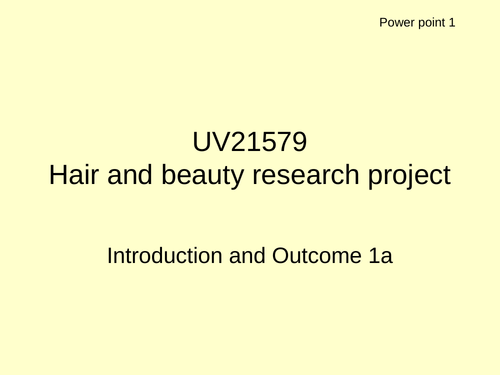 Hair and Beauty bundle *NEW* Level 2 Certificate in Hairdressing and Beauty Therapy