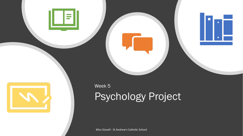 Psychology Project - Report Writing