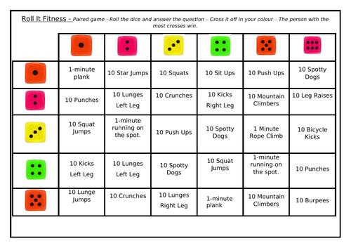Roll It - Fitness Challenge