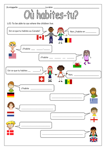 French Where I Live En Au Et Aux Teaching Resources Jump to navigation jump to search. gbp