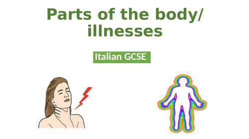 Italian GCSE - Body parts/illness