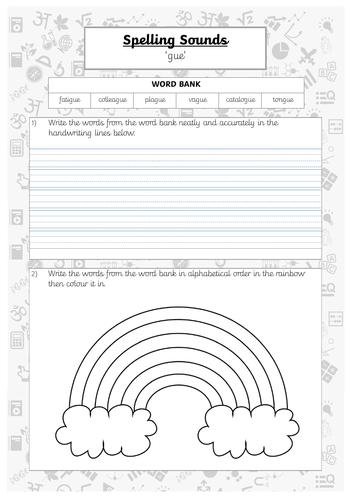 Spelling Practice - gue