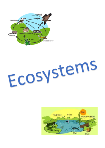 The Living World: Ecosystems Revision Notes - AQA GCSE Geography (9-1)
