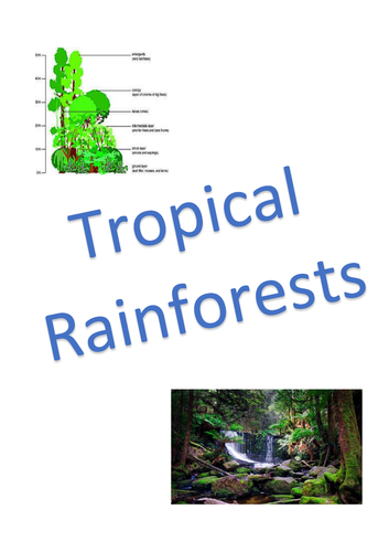 The Living World: Tropical Rainforests Revision Notes - AQA GCSE Geography (9-1)