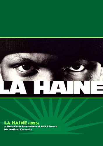 La Haine Study Guide A-Level French KS5