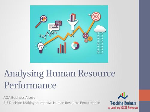 AQA Business - Analysing Human Resource Performance