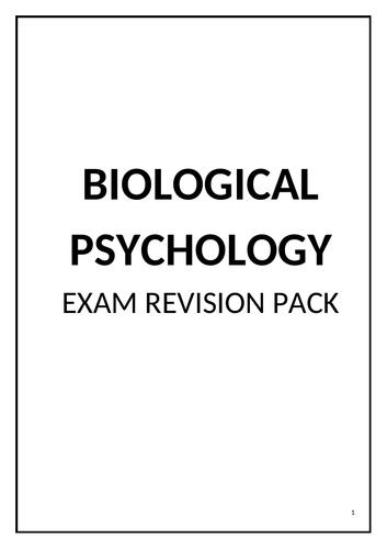 Edexcel Psychology A Level Revision - Biological