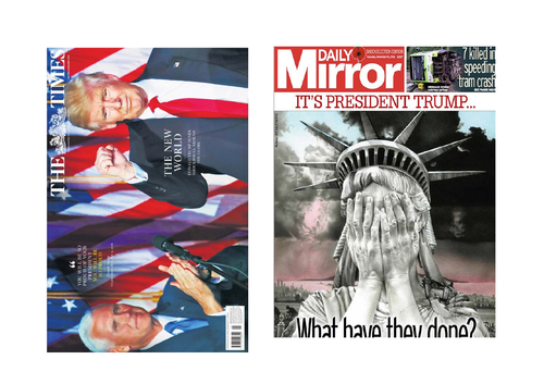 UPDATED YEAR 13 :A2 EDUQAS NEWSPAPERS 2021 ONWARD SET TEXTS 'FAILY MIRROR' & 'THE TIMES' (BREXIT)