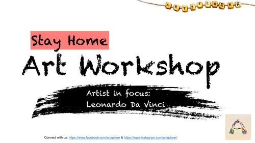 Leonardo Da Vinci   Practical & Theoretical Task   Space   Appropriate For Home Learning