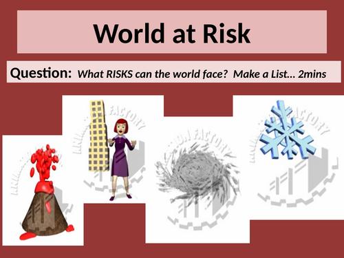 KS3 World at Risk SoW