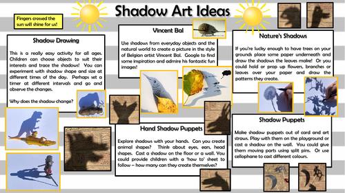 Outdoor Art - Using Shadows