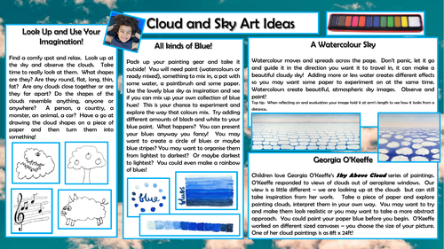 Outdoor Art - Clouds and Sky