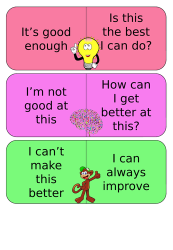 Growth-Mindset cards
