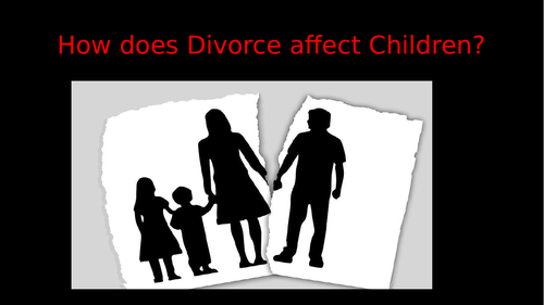 How does Parental Divorce affect Children?
