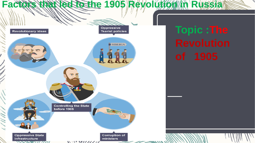 The October Revolution of 1905, in Russia.