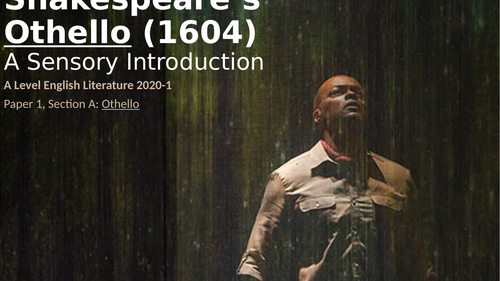 Introduction to Shakespeare's Othello (1603/4)