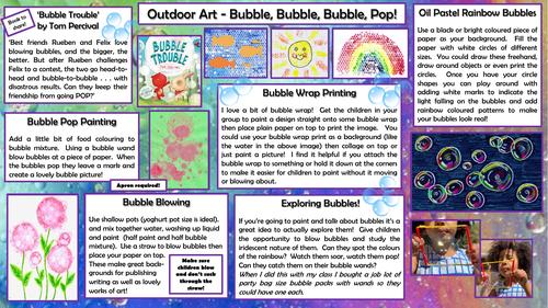 Outdoor Art - Bubble, Bubble, Bubble, Pop!