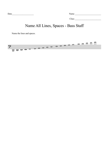 Music Theory: Pitch Drills Worksheet Bundle (8) with Answer Sheets