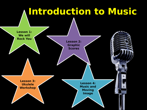 KS3 Music:  4 Bridging/ Filler Lessons for (Listening and Appraising/Performance/Composition)