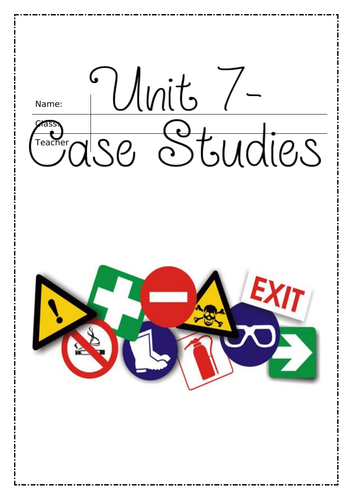 L3 Unit 7: SOW and Assignment guidance