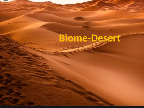 Biome-Desert