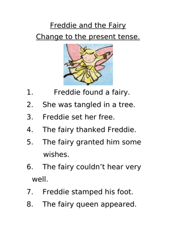 Freddie and the Fairy Literacy Pack
