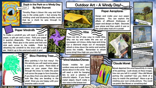 Outdoor Art - A Windy Day