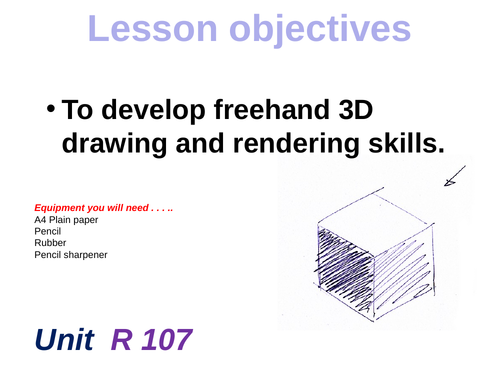 Free hand 3D Sketching in isometric
