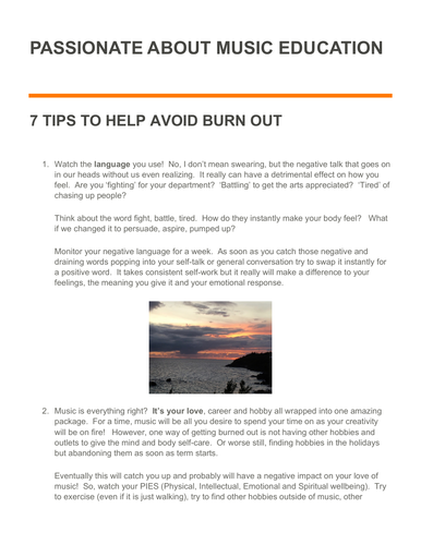 Burned out?  7 tips to overcome stress